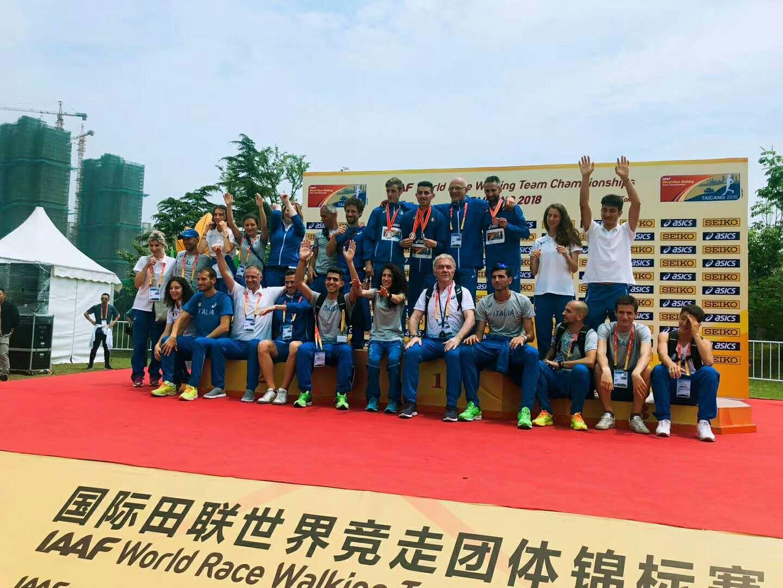 Nicolas Fanelli è  primo ai campionati mondiali di atletica  in Cina