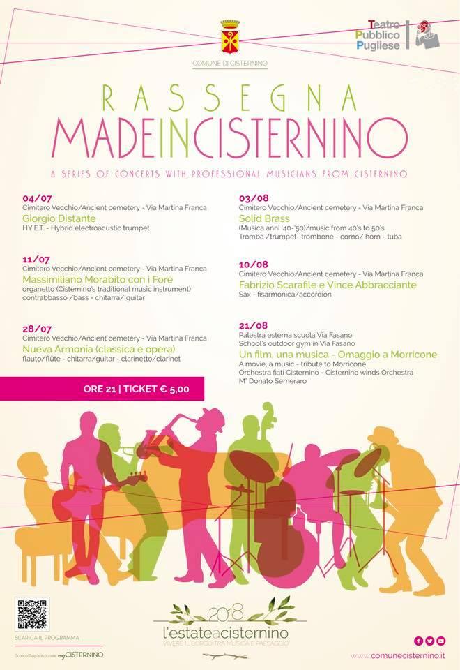 rassegna musicale a Cisternino