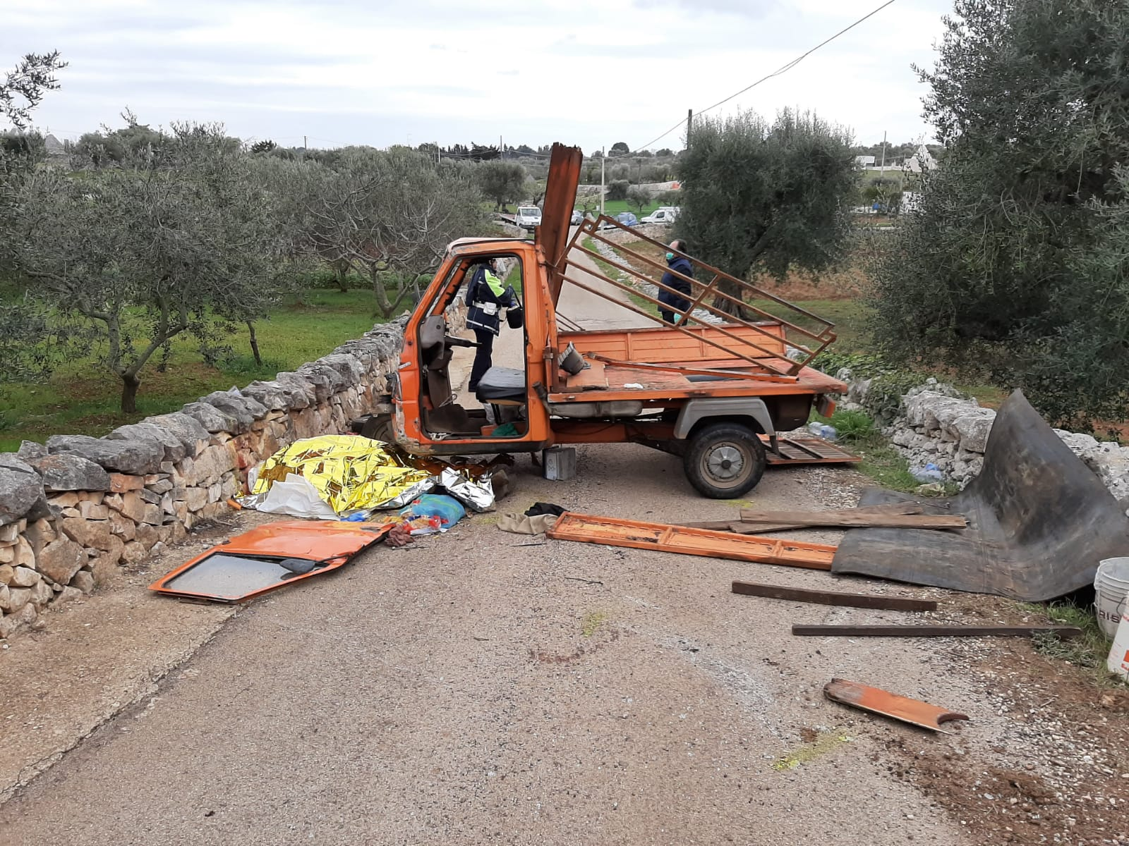 incidente mortale Cisternino donna