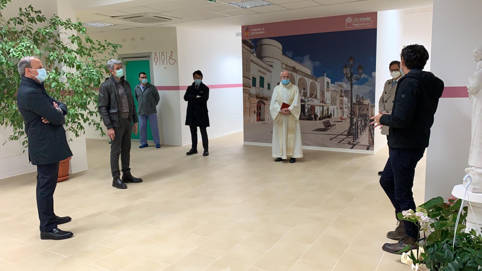 inaugurazione centro covid
