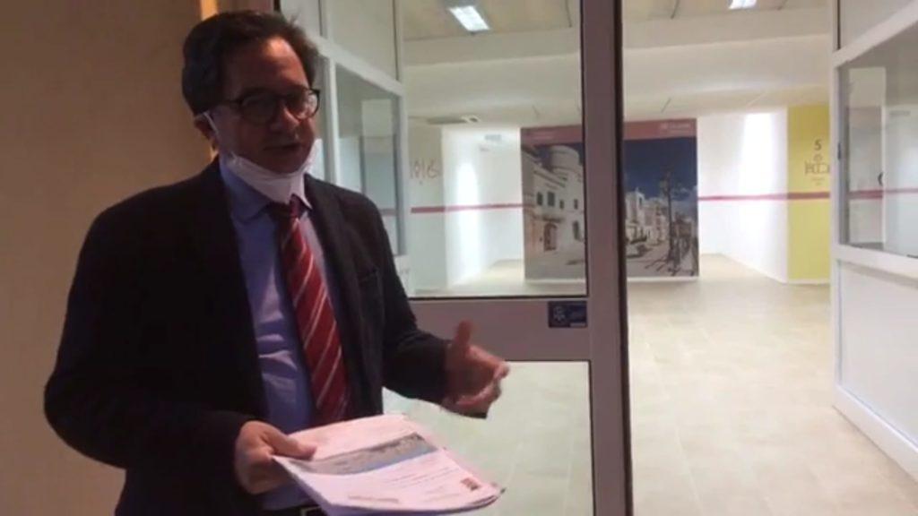 prossima inaugurazione del centro covid a cisternino, sindaco luca convertini