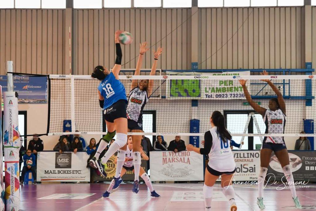 Pallavolo Adelaide Soleti con il Marsala volley