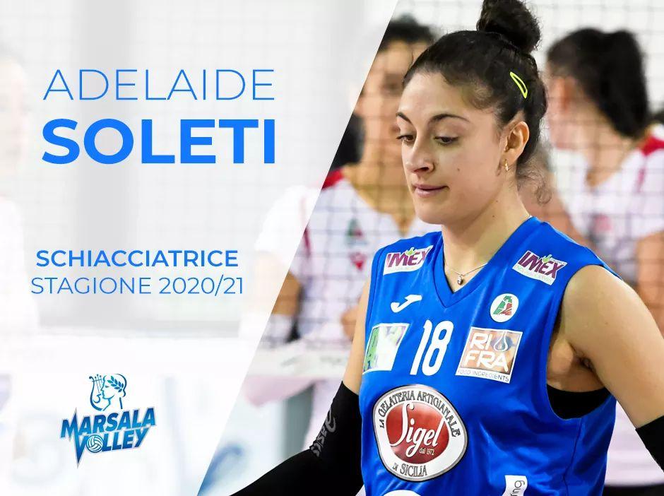 Adelaide Soleti ha rinnovato con il Marsala