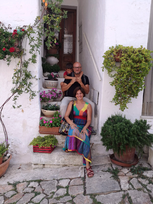 Beppe Frattaroli famiglia