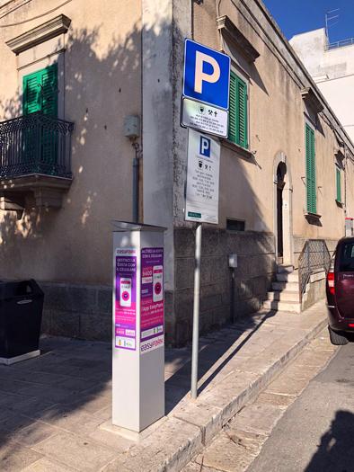 colonnine parcheggi a pagamento