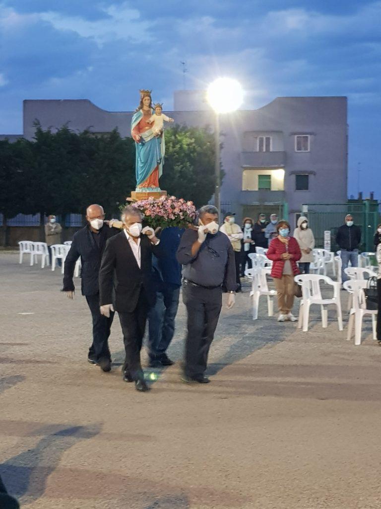 Festa Maria Ausiliatrice a Cisternino 2020 processione