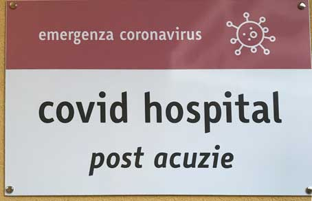 Covid hospital post acuzie, ospedale post-covid