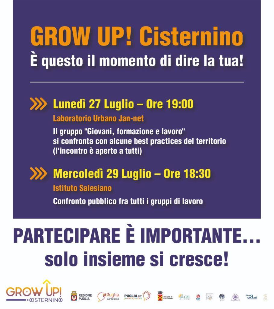 GROW UP a Cisternino