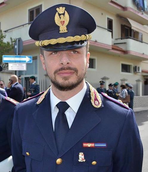 Pierfranco Amati dirigente del commissariato di Martina Franca