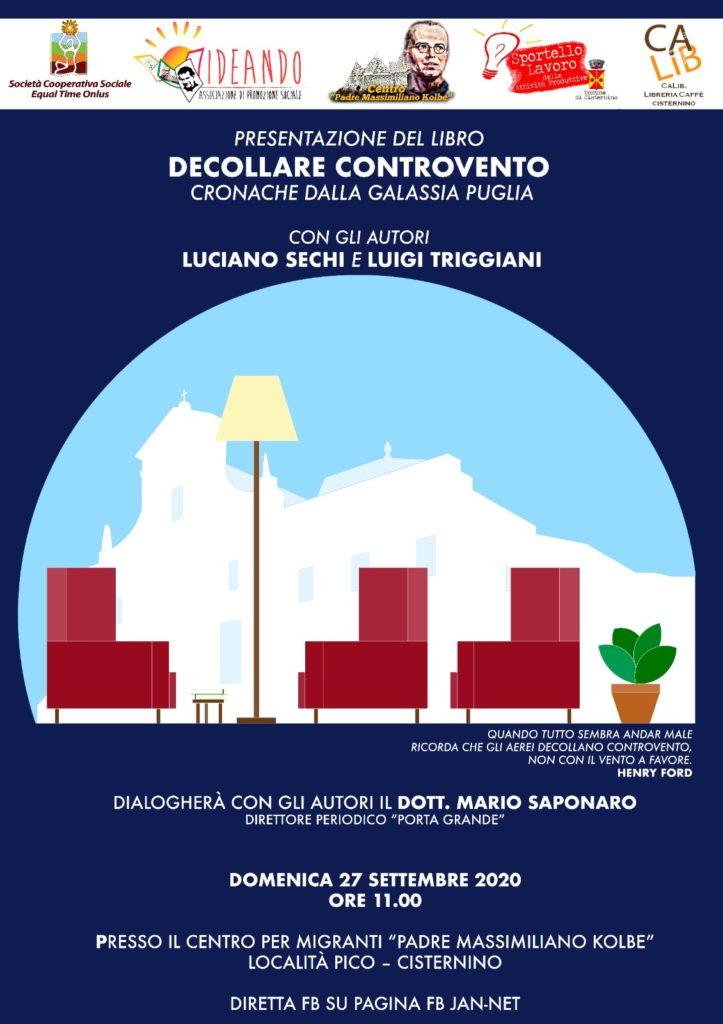 Decollare controvento di Luciano Sechi