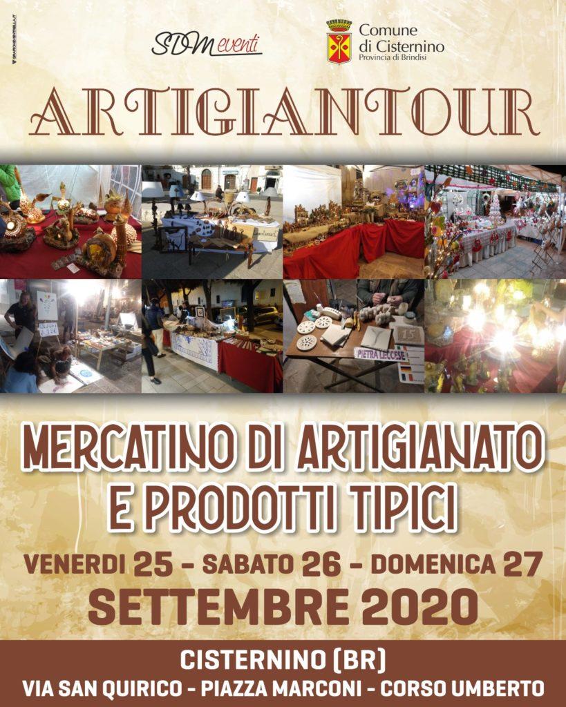 ARTIGIANTOUR 2020 fa tappa a Cisternino