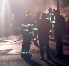 Bruciata auto a Cisternino