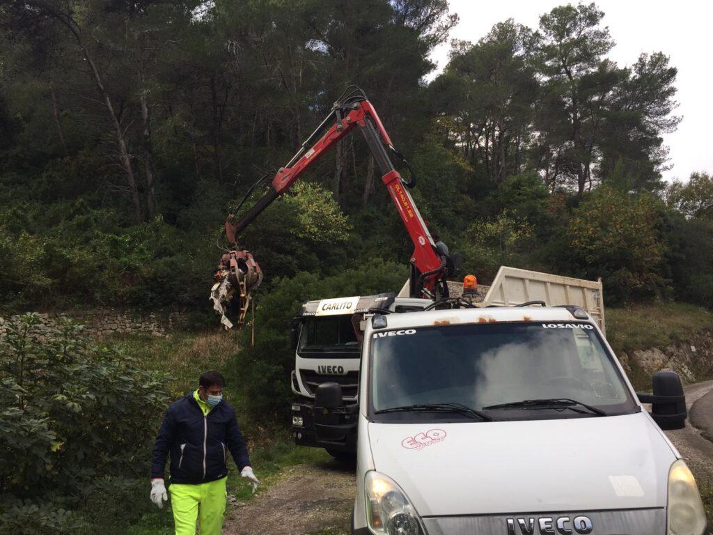 Raccolta rifiuti della Gravina di Cisternino