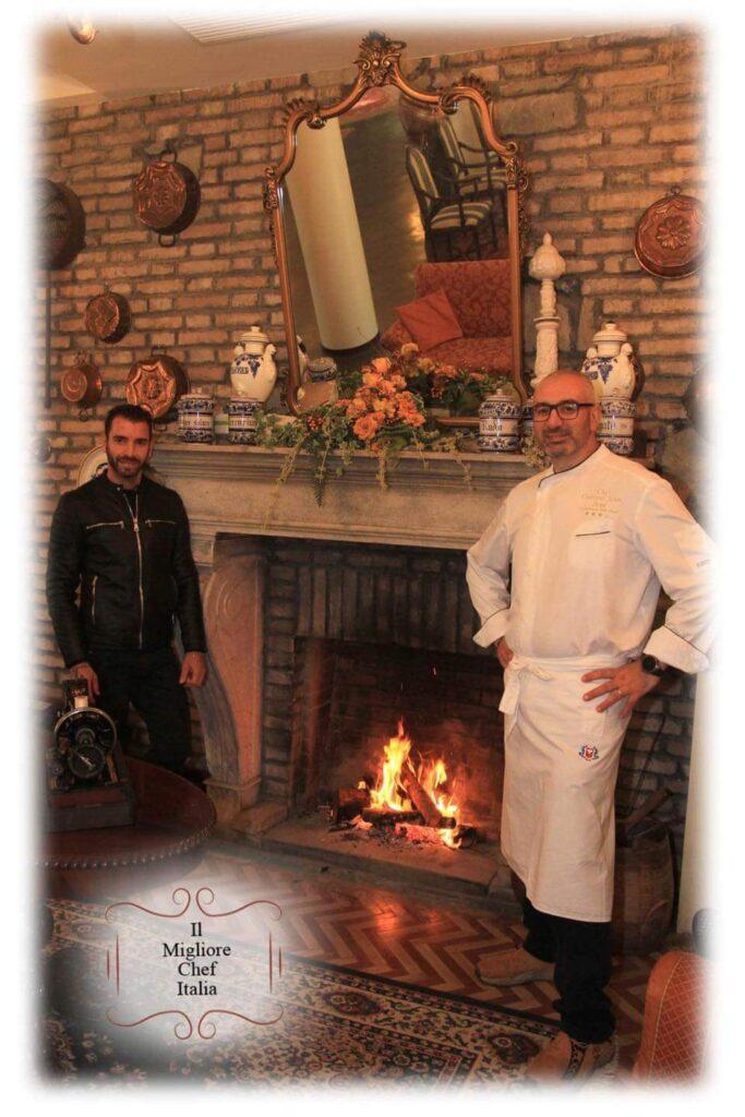 Lo chef Giacomo Soleti