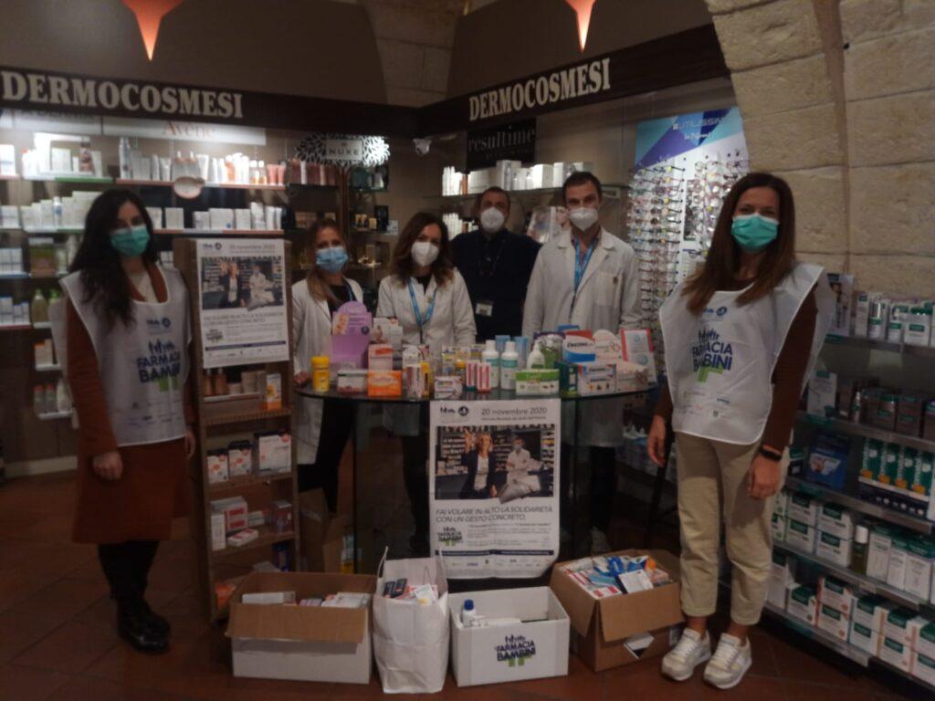 La Comunità Francesco Convertini di Cisternino nella farmacia Itria