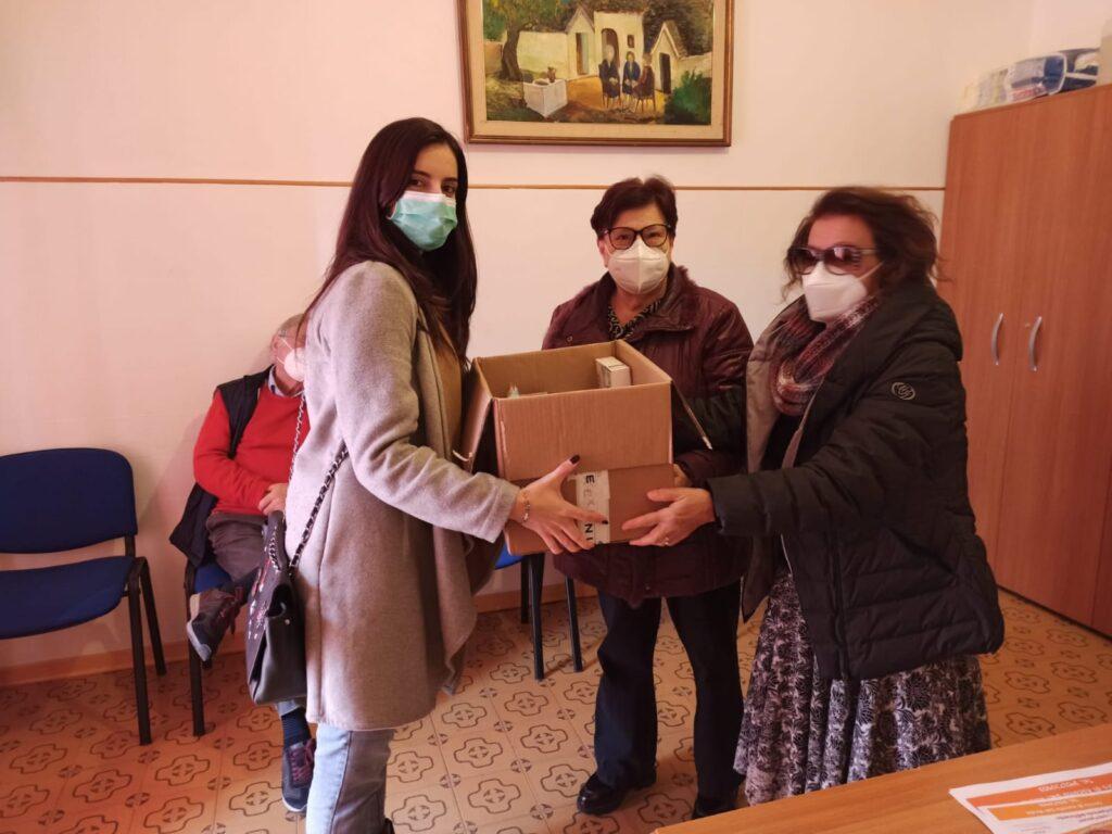 La Comunità Francesco Convertini di Cisternino dona alla caritas