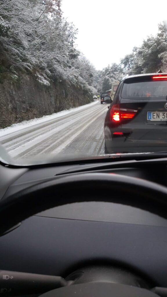 Neve disagi a Cisternino