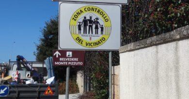 """Cisternino: arrivano i cartelli del """"Controllo del vicinato"""""""