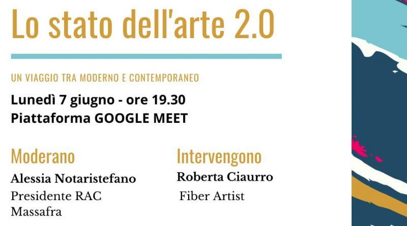 Webinar: lo Stato dell'arte 2.0 e un viaggio tra contemporaneo e moderno